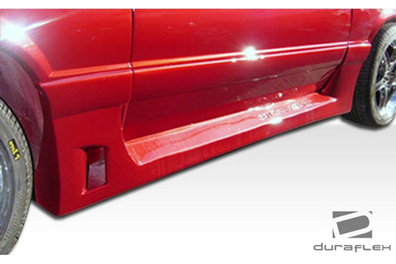 1980 Ford Mustang Duraflex GTX Sideskirts