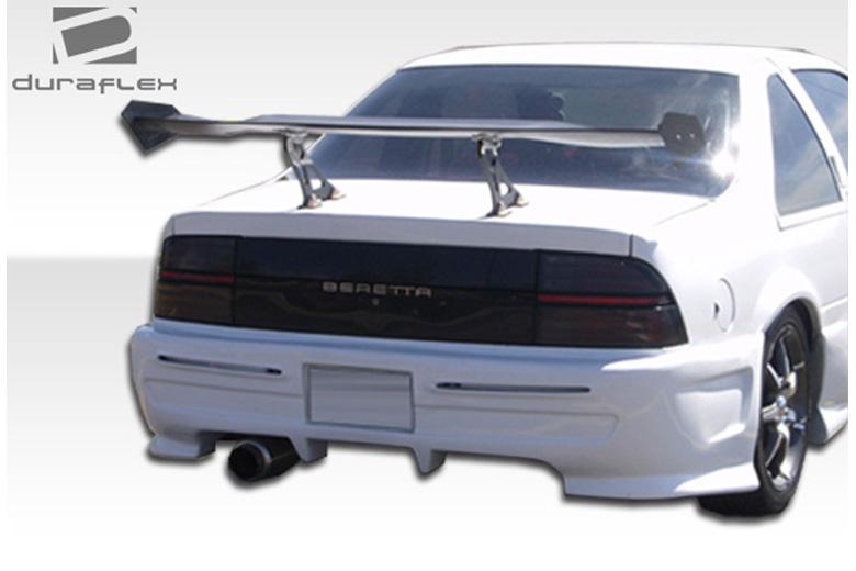 1993 Chevrolet Beretta Duraflex Type X Bumper (Rear)
