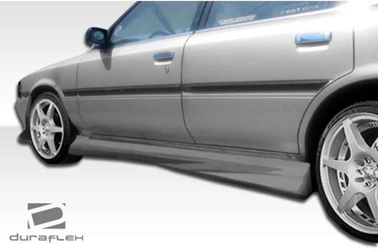1988 Toyota Camry Duraflex Xtreme Sideskirts