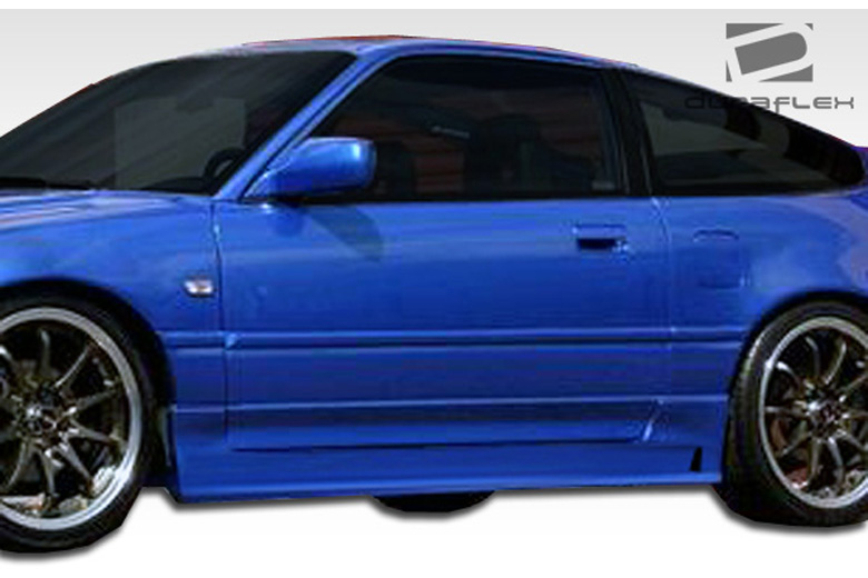 1991 Honda CRX Duraflex B-2 Sideskirts