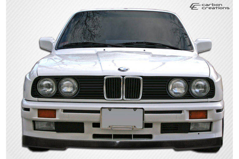 1989 BMW 3-Series Carbon Creations IS Look Front Lip (Add On)
