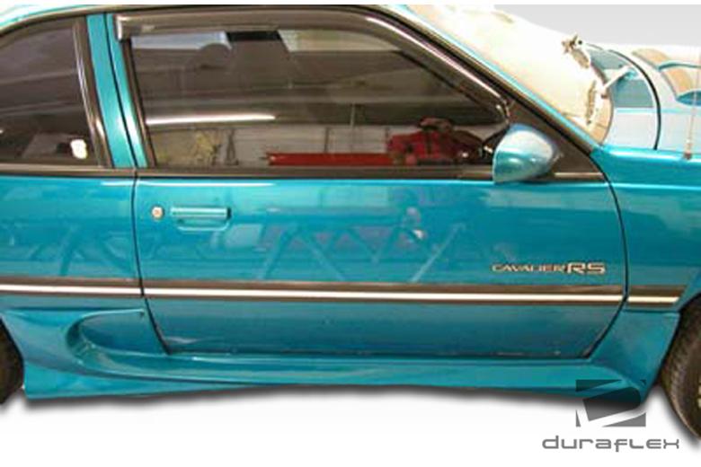 1990 Chevrolet Cavalier Duraflex Vader Sideskirts