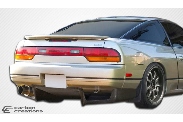 1993 Nissan 240SX Carbon Creations Fulvius Rear Lip (Add On)