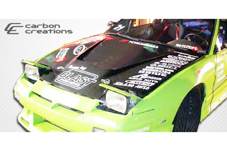 1992 Nissan 240SX Carbon Creations Vader Hood