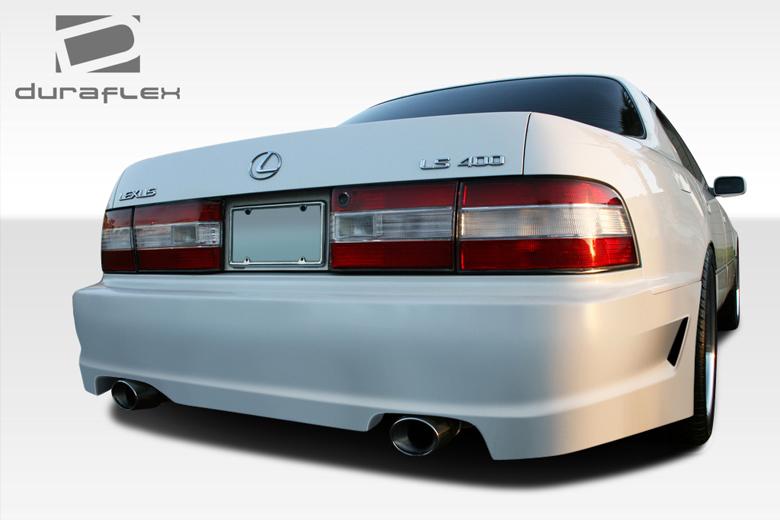 1990 Lexus LS Duraflex Forte Bumper (Rear)