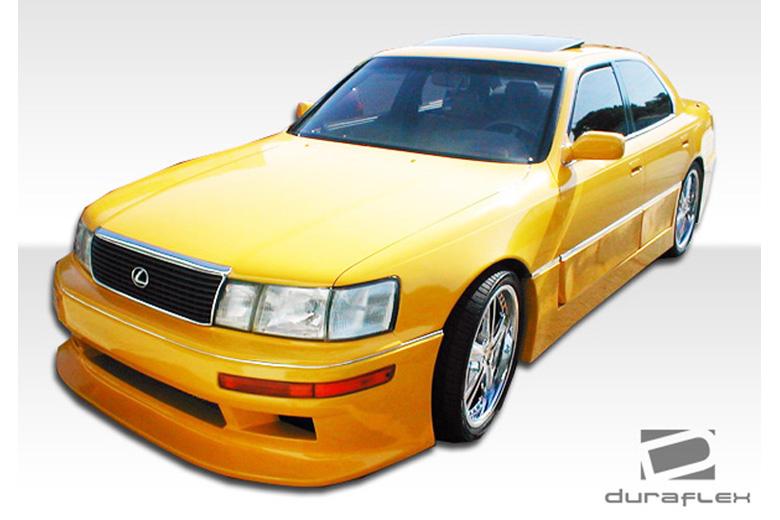 1990 Lexus LS Duraflex V-Line Bumper (Front)