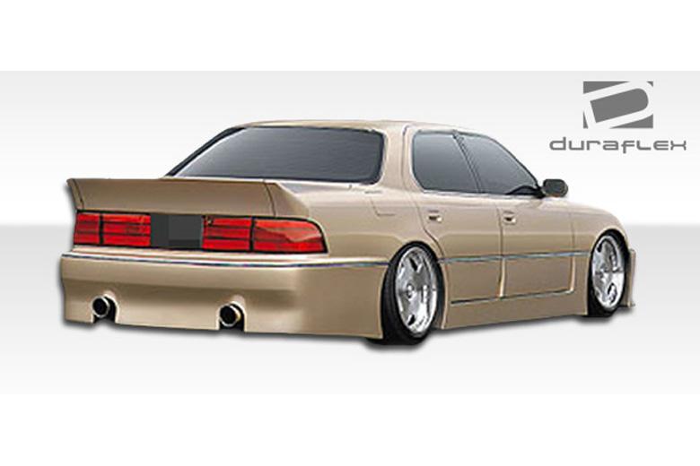 1990 Lexus LS Duraflex V-Line Bumper (Rear)