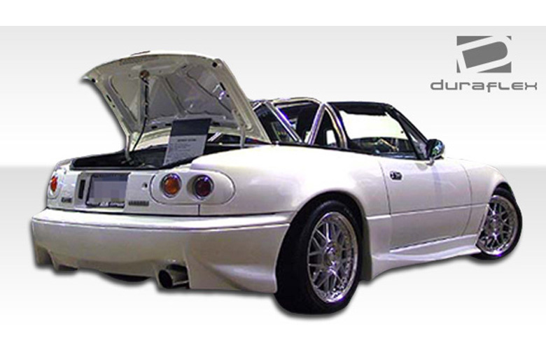 1990 Mazda Miata Duraflex Vader Rear Lip (Add On)