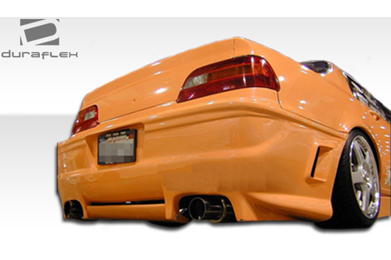 2008 Acura Legend Duraflex Cyber Bumper (Rear)