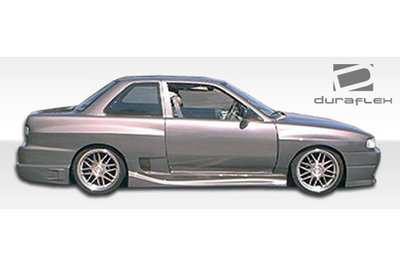 1992 Nissan Sentra Duraflex Drifter Sideskirts
