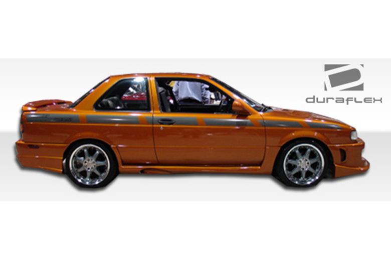 1992 Nissan Sentra Duraflex Xtreme Sideskirts