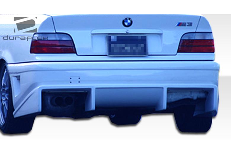 1992 BMW M-Series Duraflex Bomber Bumper (Rear)