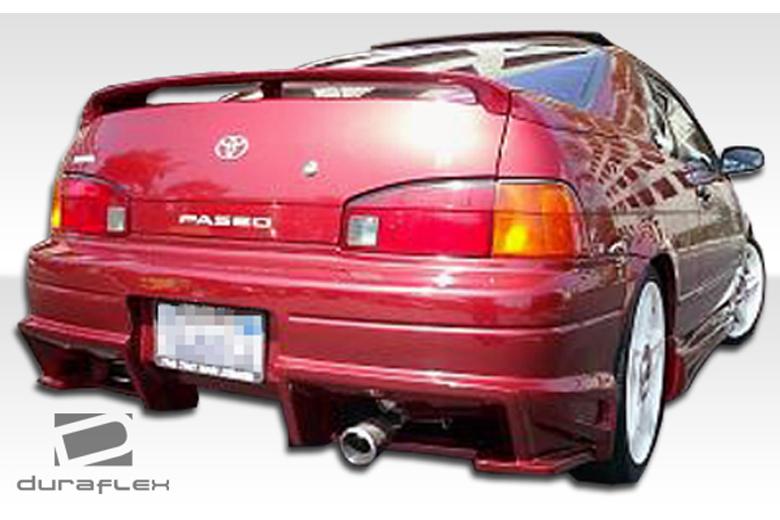 1994 Toyota Paseo Duraflex Bomber Bumper (Rear)