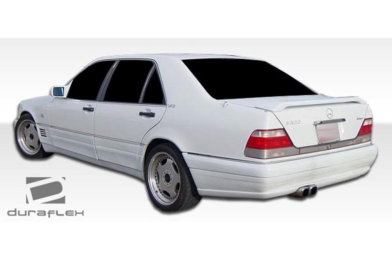 1995 Mercedes S-Class Duraflex LR-S Bumper (Rear)