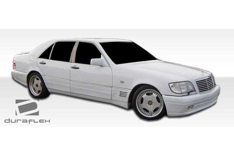 1995 Mercedes S-Class Duraflex LR-S Sideskirts