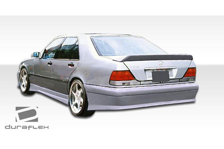 1995 Mercedes S-Class Duraflex VIP Bumper (Rear)