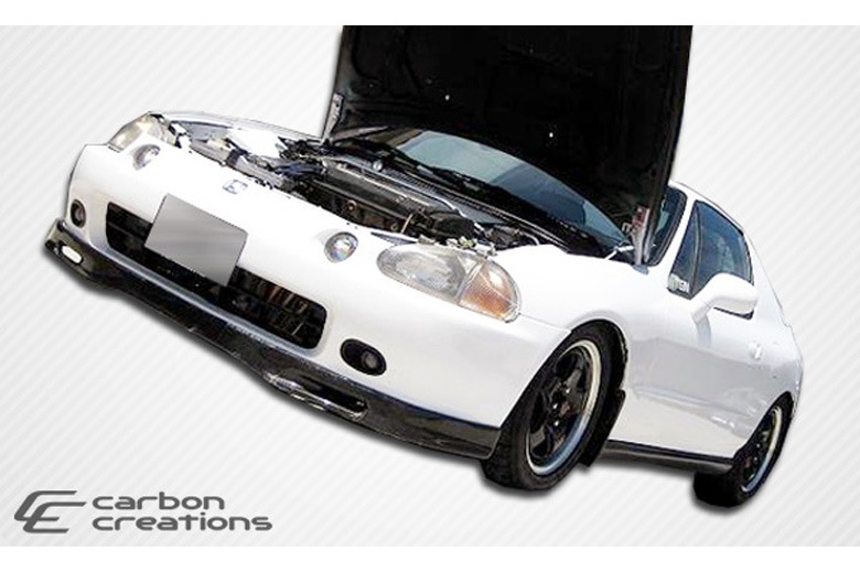 1994 Honda Del Sol Carbon Creations Spoon Style Front Lip (Add On)