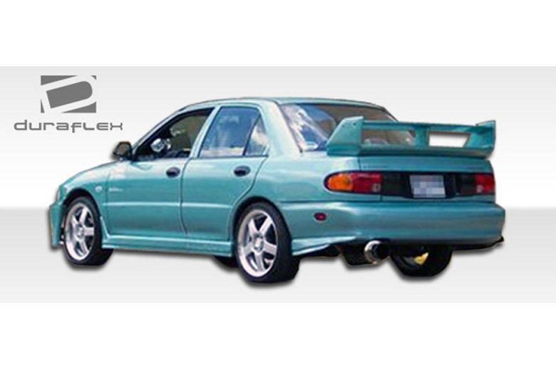 1994 Mitsubishi Mirage Duraflex Evo Rear Lip (Add On)