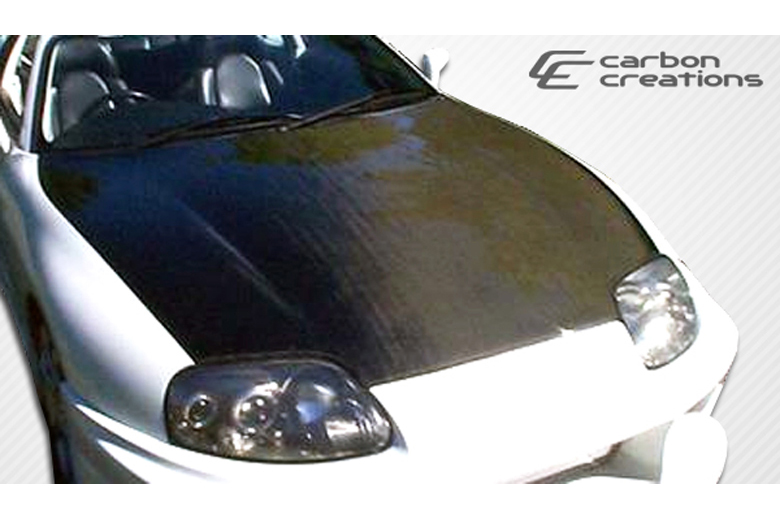 1993 Toyota Supra Carbon Creations Hood