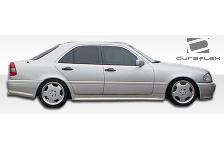 1994 Mercedes C-Class Duraflex AMG Look Sideskirts