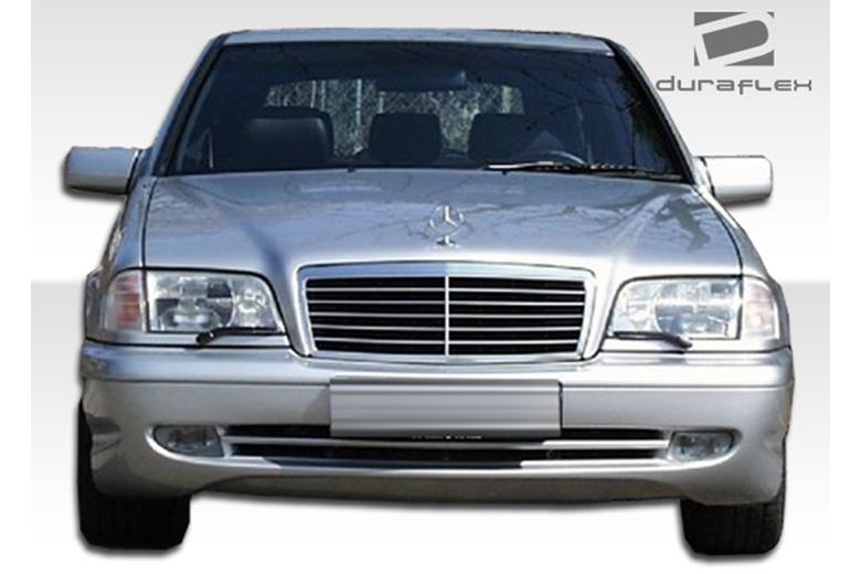 1994 Mercedes C-Class Duraflex C43 Look Bumper (Front)