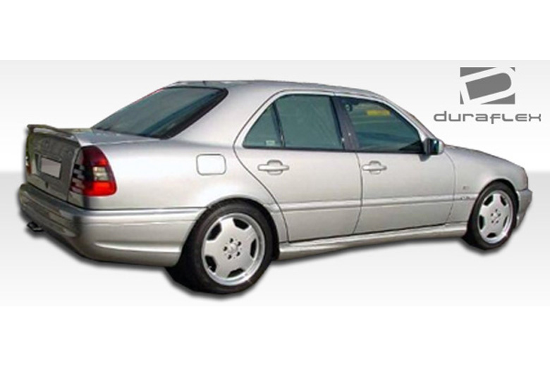 1997 Mercedes C-Class Duraflex C43 Look Sideskirts