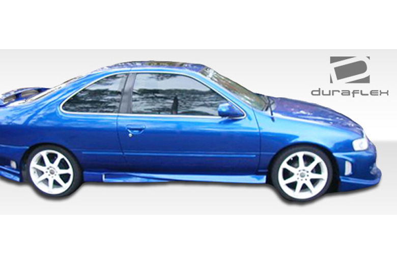 1996 Nissan Sentra Duraflex Xtreme Sideskirts