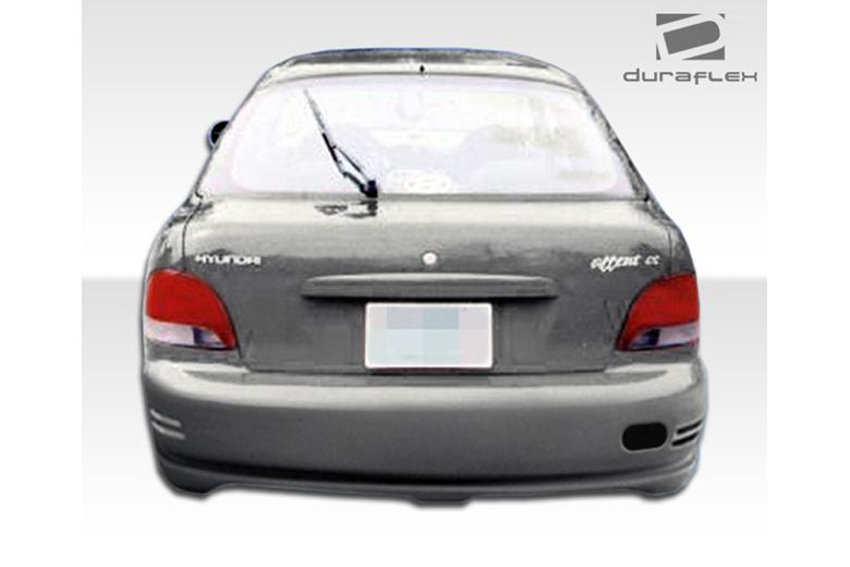 1995 Hyundai Accent Duraflex Evo Bumper (Rear)