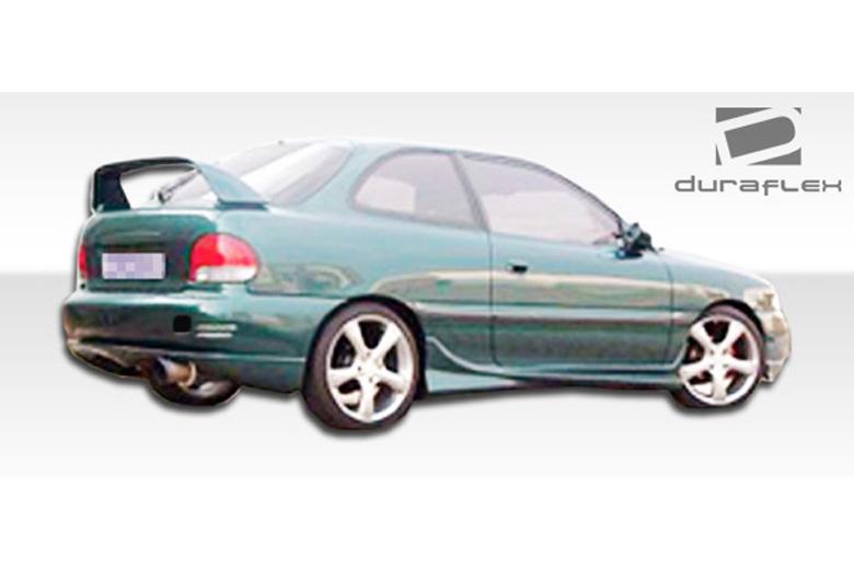1995 Hyundai Accent Duraflex Evo Sideskirts