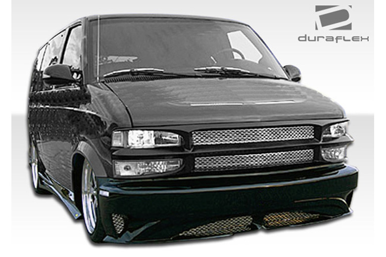 1998 Chevrolet Astro Extreme Dimensions Zenith Bumper (Front)