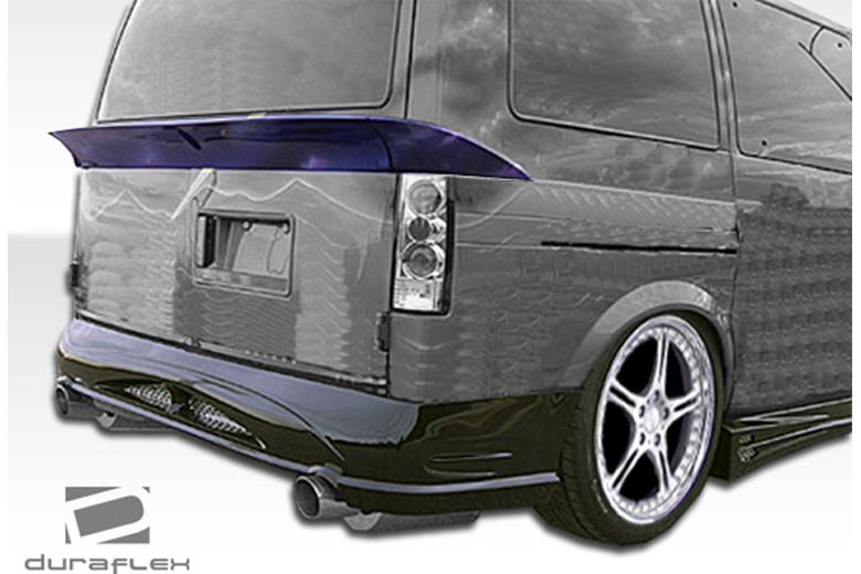 1995 Chevrolet Astro Extreme Dimensions Zenith Bumper (Rear)