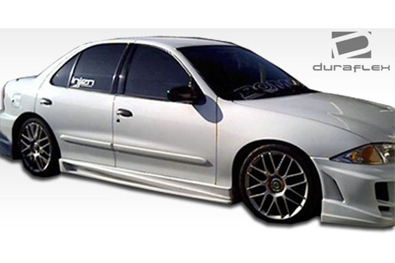 2004 Chevrolet Cavalier Duraflex Bomber Sideskirts