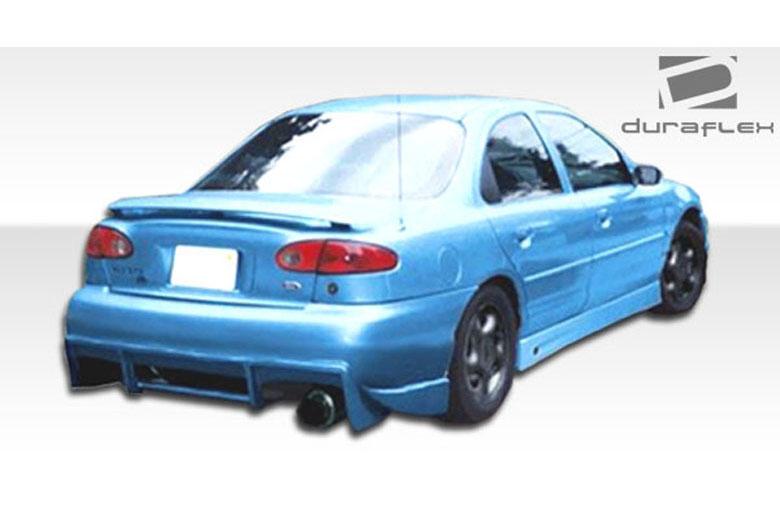 2000 Ford Contour Duraflex Survivor Bumper (Rear)