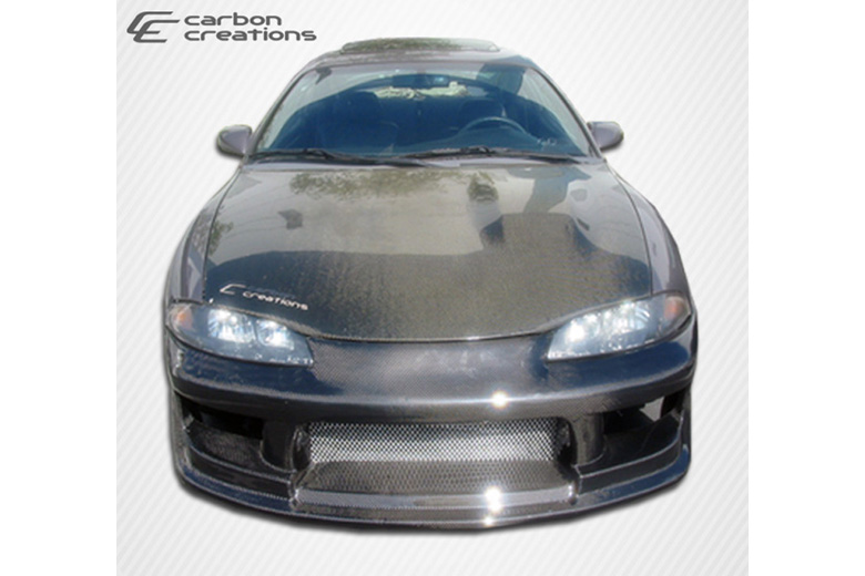 1998 Mitsubishi Eclipse Carbon Creations Drifter Bumper (Front)