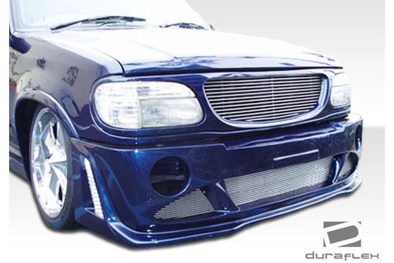 1997 Ford Explorer Duraflex Platinum Bumper (Front)