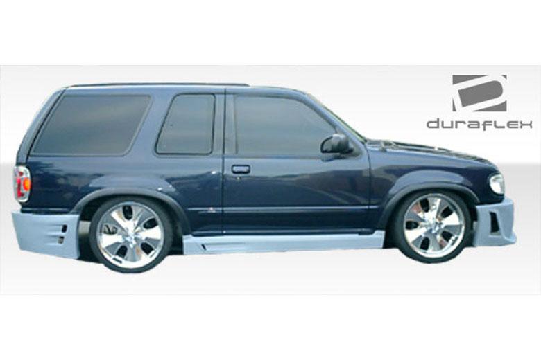 1997 Ford Explorer Duraflex Platinum Sideskirts