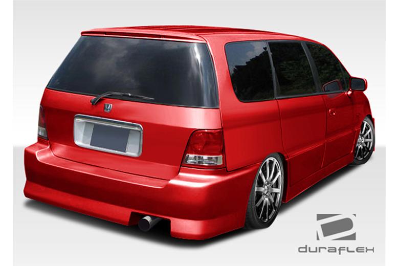 1995 Honda Odyssey Duraflex FAB Bumper (Rear)