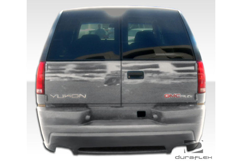 1996 Chevrolet Tahoe Duraflex Platinum 2 Bumper (Rear)