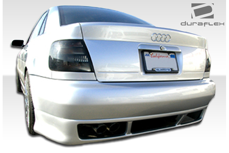 1996 Audi A4 Duraflex R-1 Rear Lip (Add On)