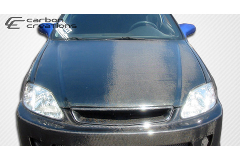 2000 Honda Civic Carbon Creations Hood