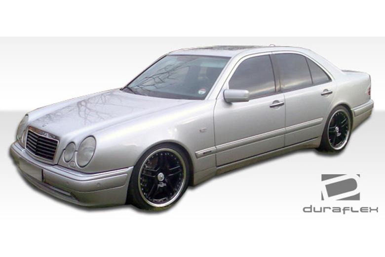 2001 Mercedes E-Class Duraflex AMG Look Sideskirts