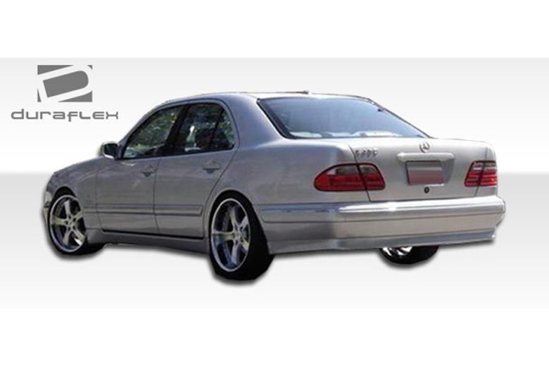 1997 Mercedes E-Class Duraflex BR-S Rear Lip (Add On)