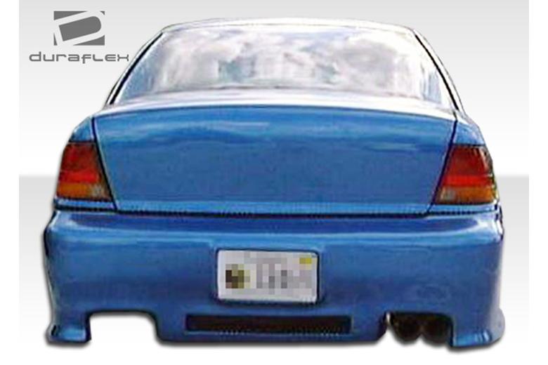 2001 Saturn SL Duraflex Spyder Bumper (Rear)