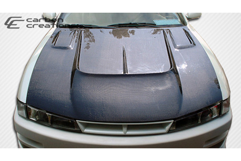 1997 Nissan 240SX Carbon Creations B-Road Hood