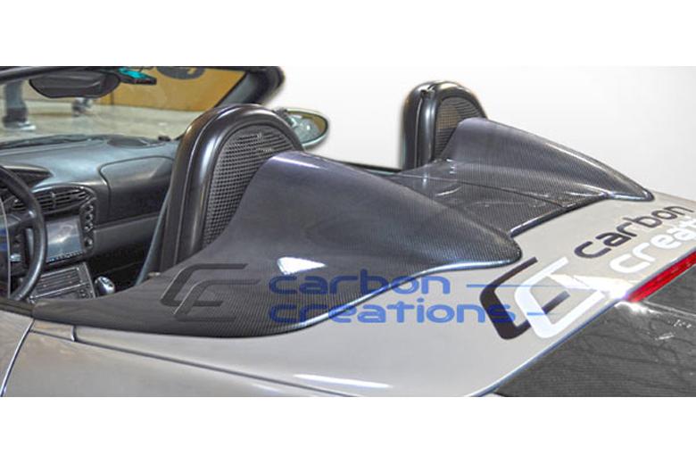 1998 Porsche Boxster Carbon Creations Maston Tonneau Cover