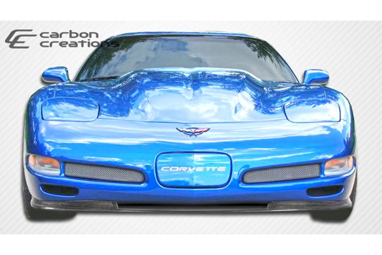 2004 Chevrolet Corvette Carbon Creations Vortex Front Lip (Add On)