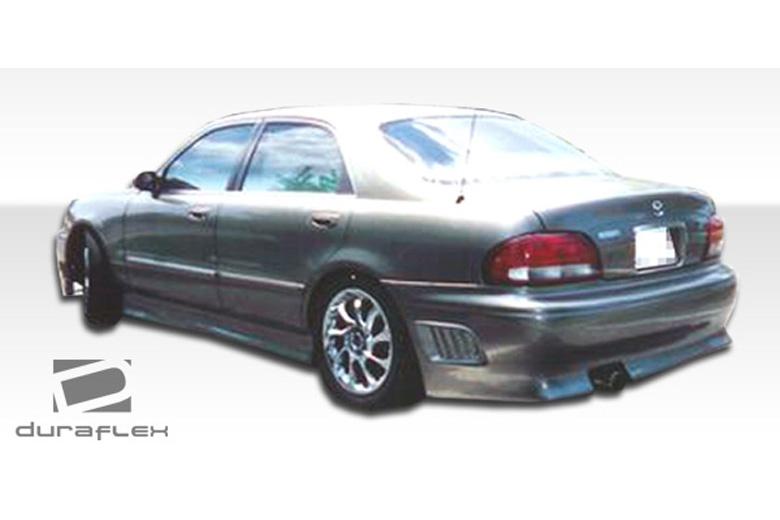 2001 Mazda 626 Duraflex VIP Bumper (Rear)