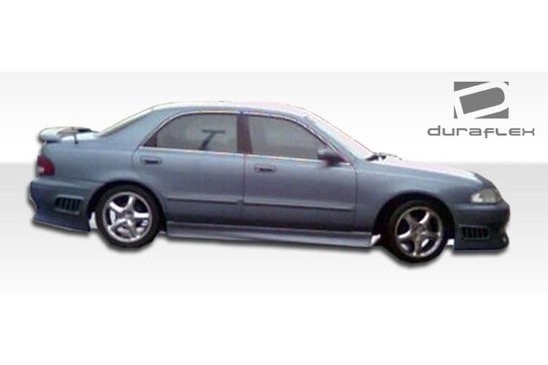 2001 Mazda 626 Duraflex VIP Sideskirts