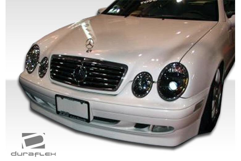 1998 Mercedes CLK-Class Duraflex BR-S Front Lip (Add On)