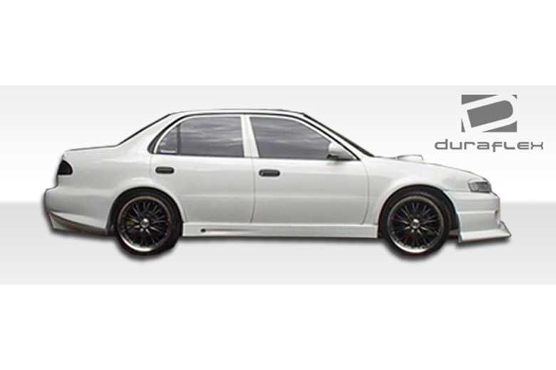 1996 Toyota Corolla Duraflex Bomber Sideskirts